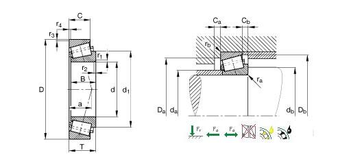 圆锥滚子轴承 圆锥滚子轴承供货商 供应23148CC W33圆锥滚子轴承